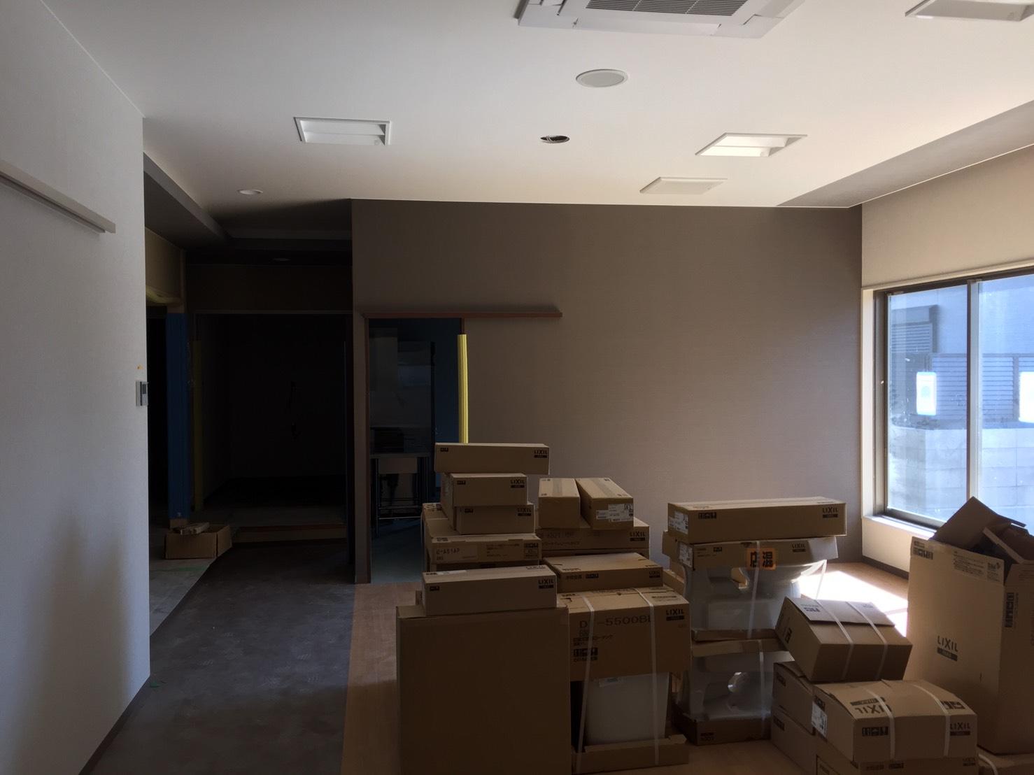 愛知県名古屋市の建築一般工事 リフォーム工事の株式会社松昇の某テナント内装工事