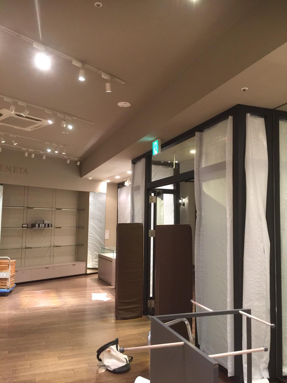 愛知県名古屋市の建築一般工事 リフォーム工事の株式会社松昇の市内 店舗改装工事